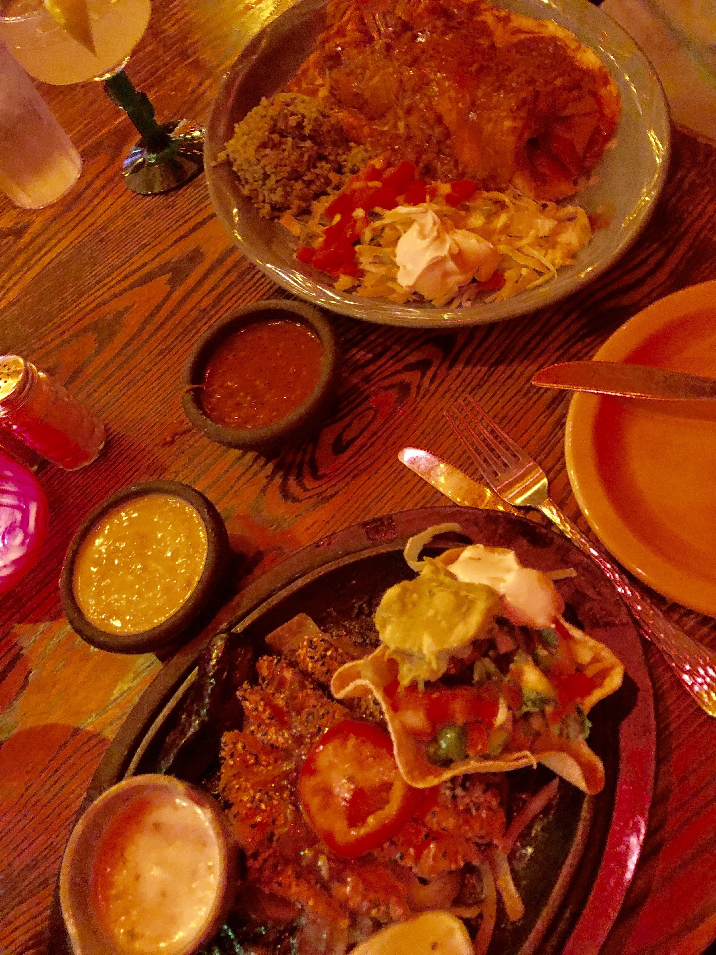 Delicious Ahi Tuna Fajitas + Skinny Marg at    El Tiempo    Westheimer