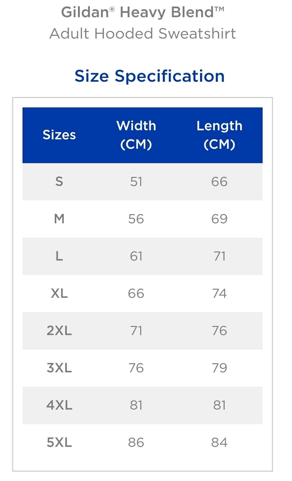 Sizing Guide Nope Sisters Clothing