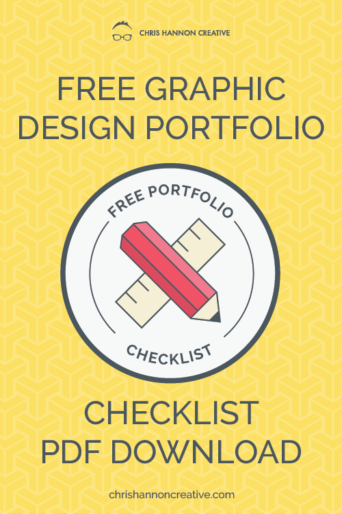 Graphic design portfolio checklist