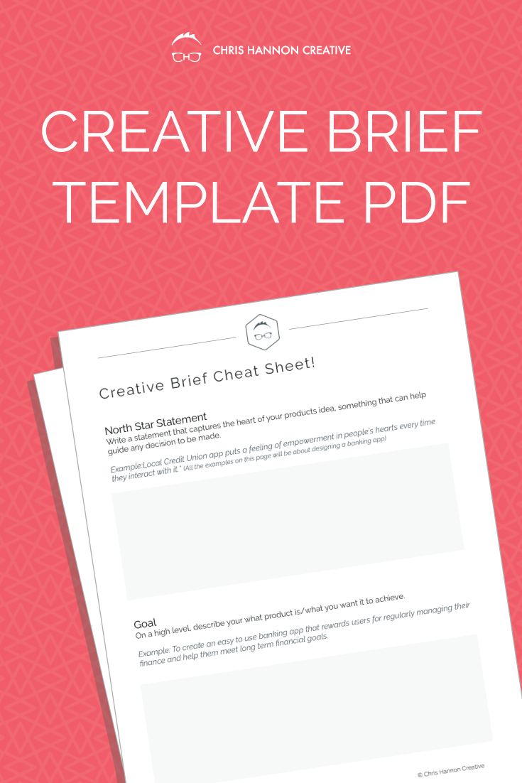 Use this creative brief template PDF to jump start your design projects the right way.