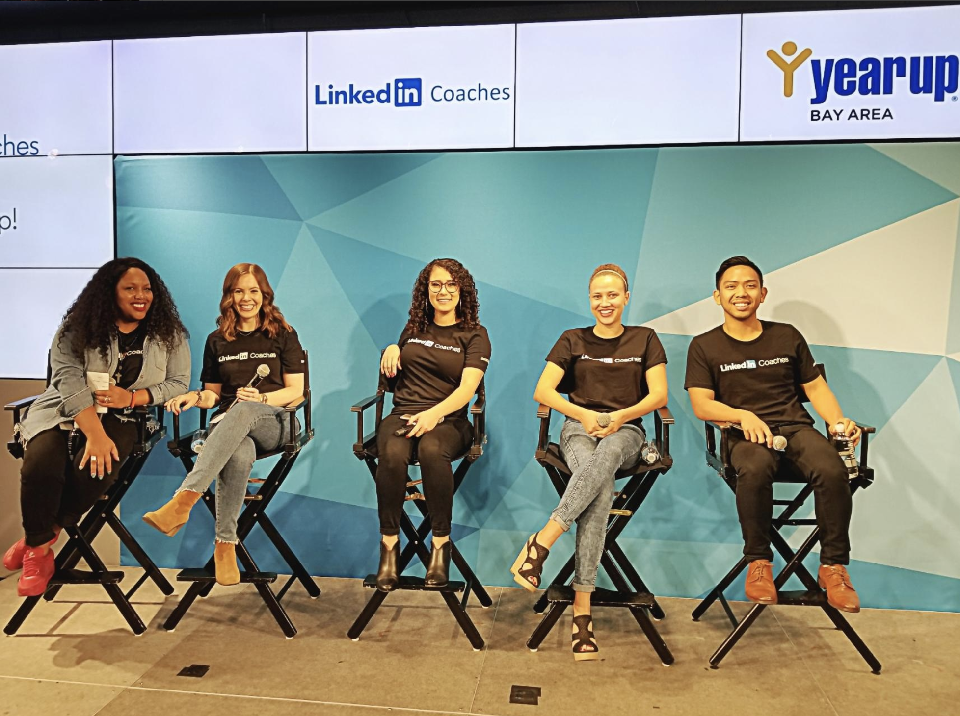 YEAR UP: LinkedIn Coaches Panelist