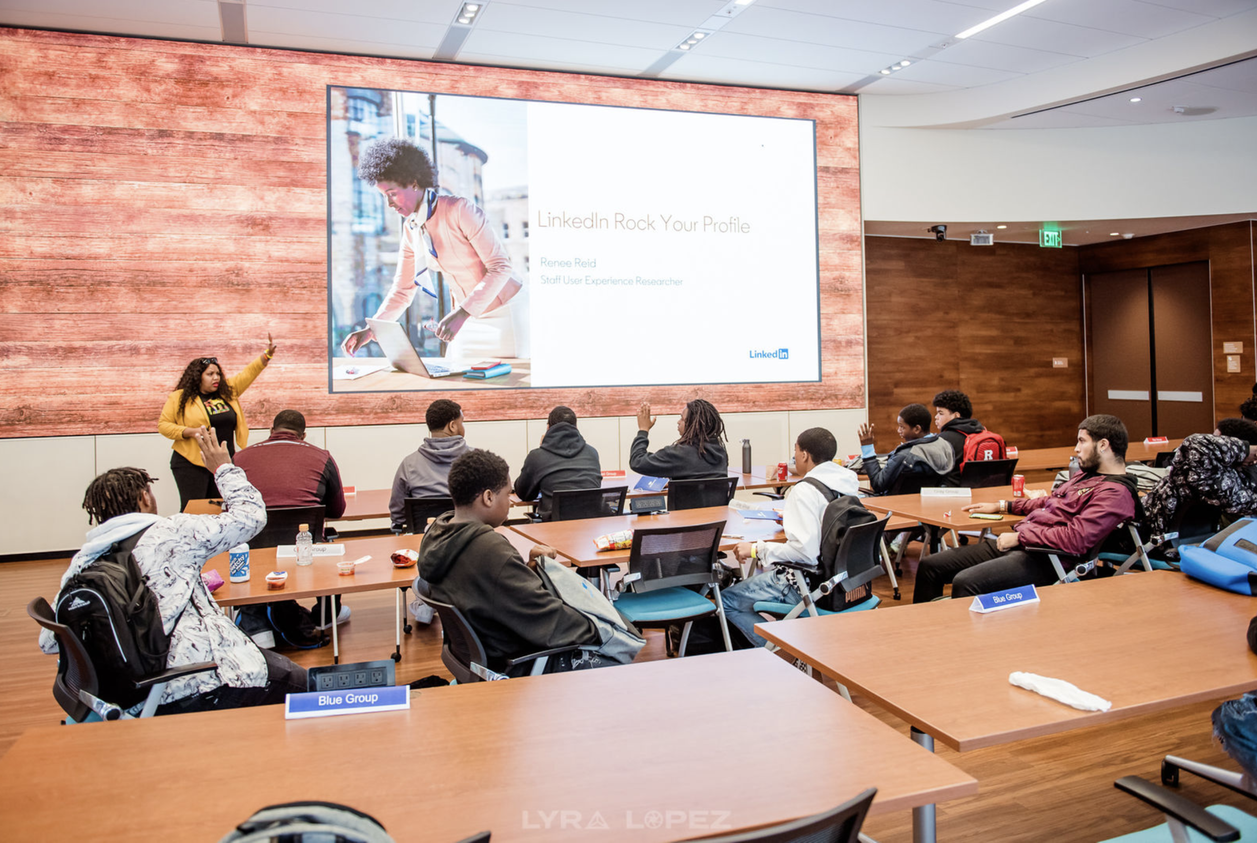 Rock Your Profile: Presenting as SalesForce and LinkedIn Black ERG's join forces to Empower Young Black Men