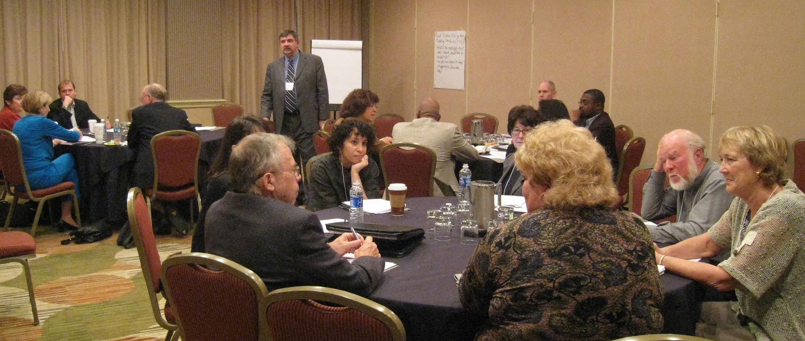 Figure 2 . One of the breakout sessions from the Third CBMS Forum.