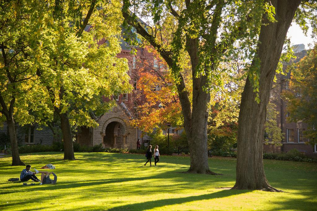 Old Main Lawn, Macalester College