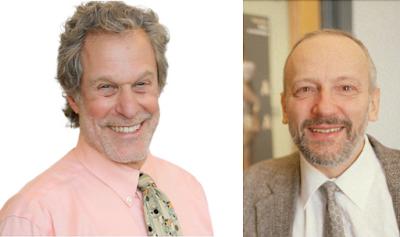 Figure 1 . Phil Sadler (left) and Gerhard Sonnert.