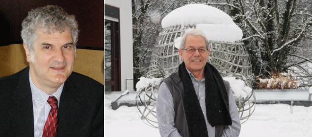 Figure 1.  Larry Smolinsky (left) and Gestur Olafsson
