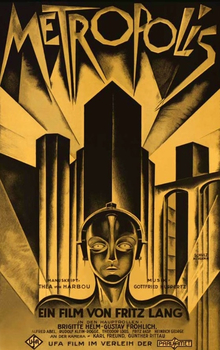 This Fritz Lang film presented a future dystopia where the elite wield power over the workers.