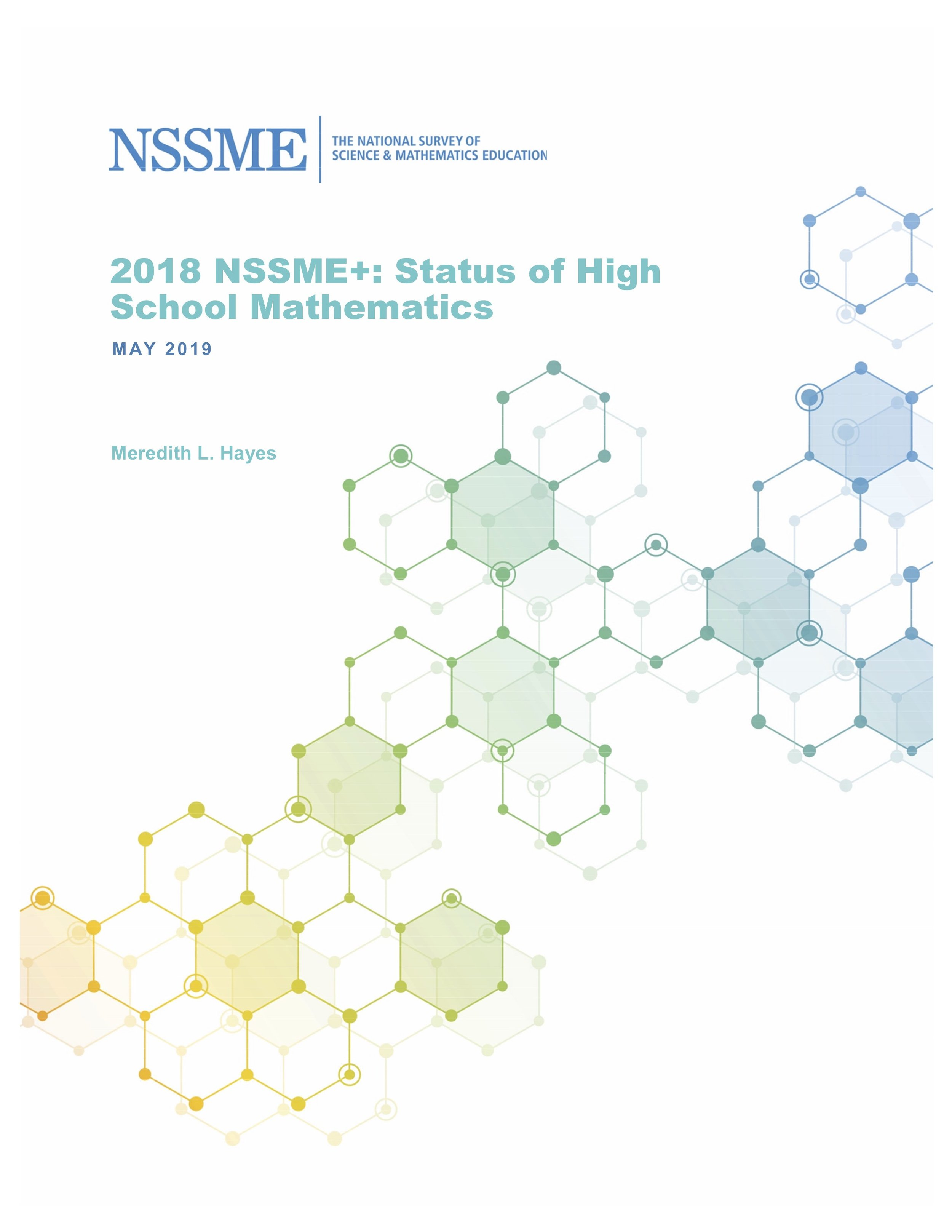 Cover of NSSME report