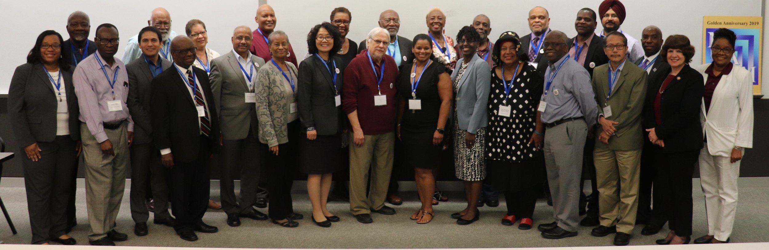 Diversity in mathematics illustrated at the 2019 National Association of Mathematicians Midwest/Southwest Regional Faculty Conference on Research and Teaching Excellence (FCRTE) hosted at Texas Southern University, an HBCU in Houston, Texas.