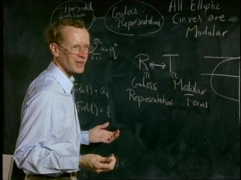 Not for the faint-hearted: Andrew Wiles describes his new proof of Fermat's Last Theorem in 1994
