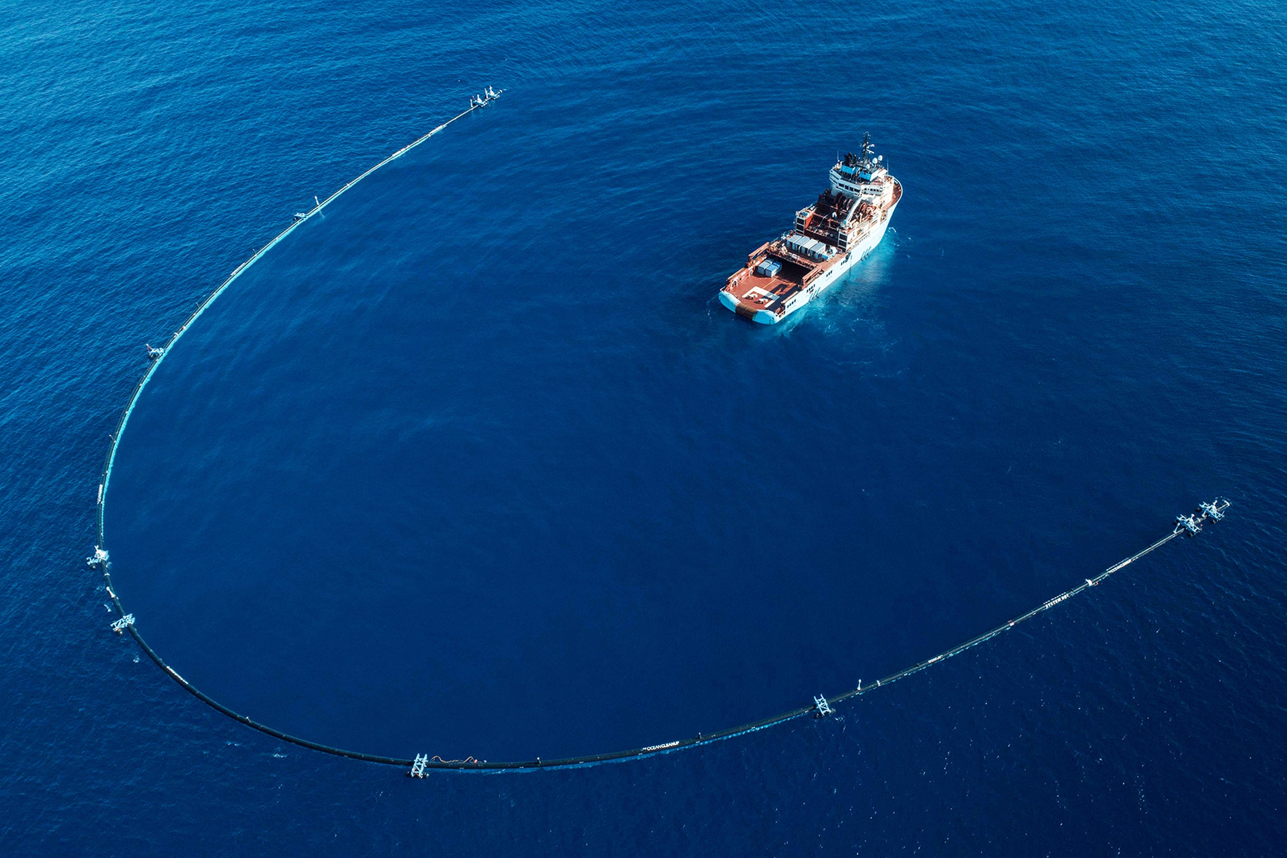 Source:    The Ocean Cleanup