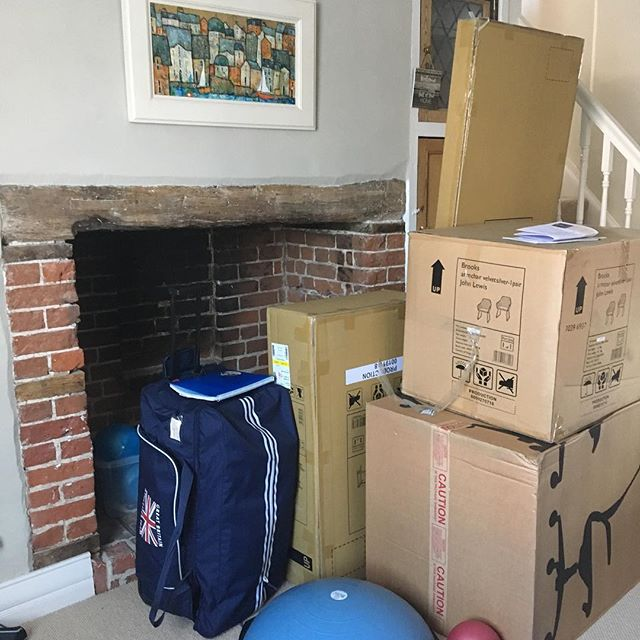 Getting ready for the big move! Exciting times. Very sad to be leaving @terriered who has been absolutely amazing at helping me set up but feeling thankful for the opportunity to expand my physio and Pilates business alongside @japooley76 of PilatesWorks4U. You will find me (FitFRAME Physio) at Kersey Mill from April 1st #physiotherapist #pilates #businesswoman #workingmum #strongertogether