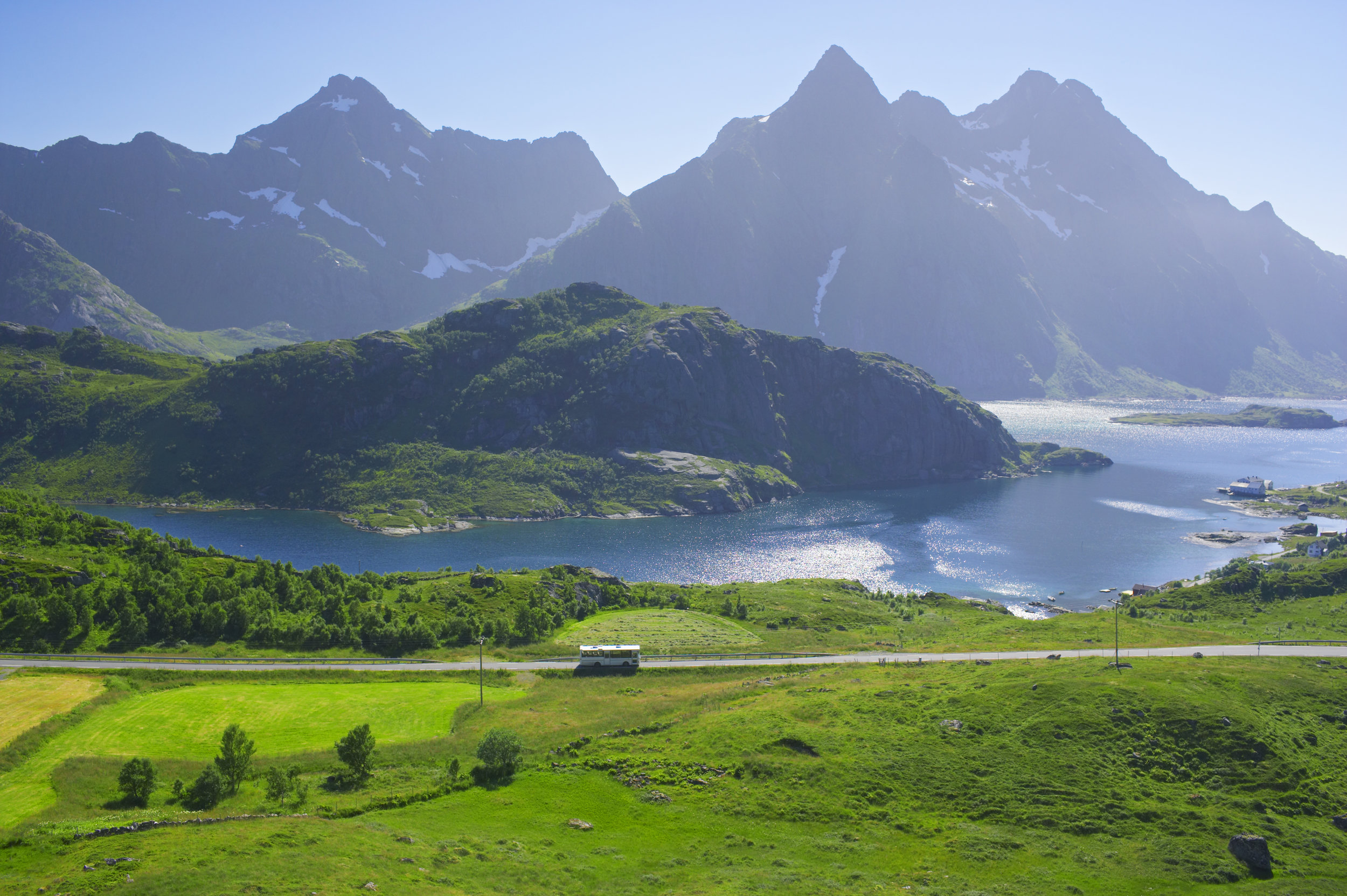 Gunnar Eilertsen (60 years old), Kabelvåg - 'I like driving and I love talking to people. I never get tired of hearing people telling me how beautiful Lofoten is. It always makes me very proud.