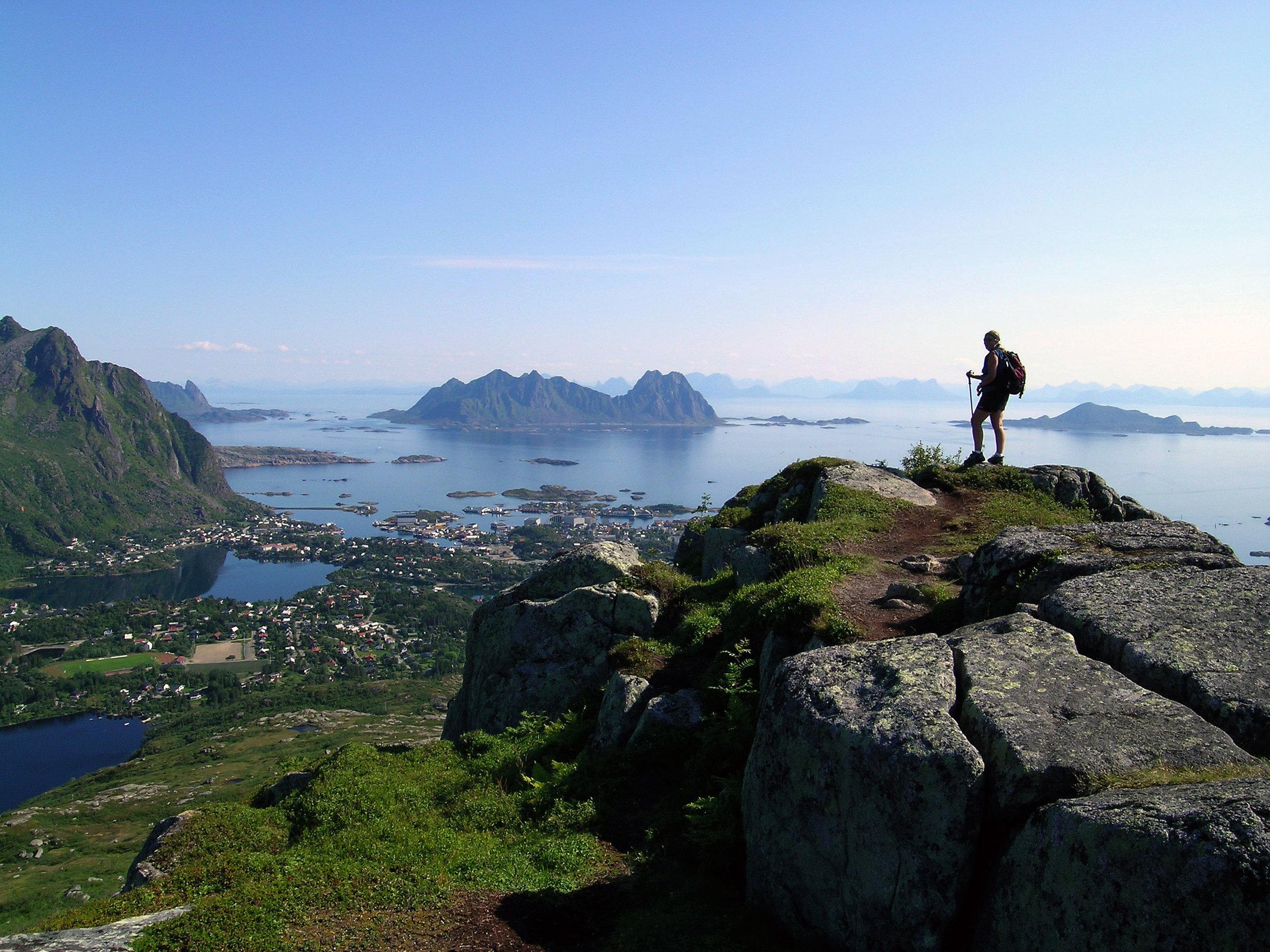 Utsikt til Svolvær Foto:Chris Craggs www.nordnorge.com