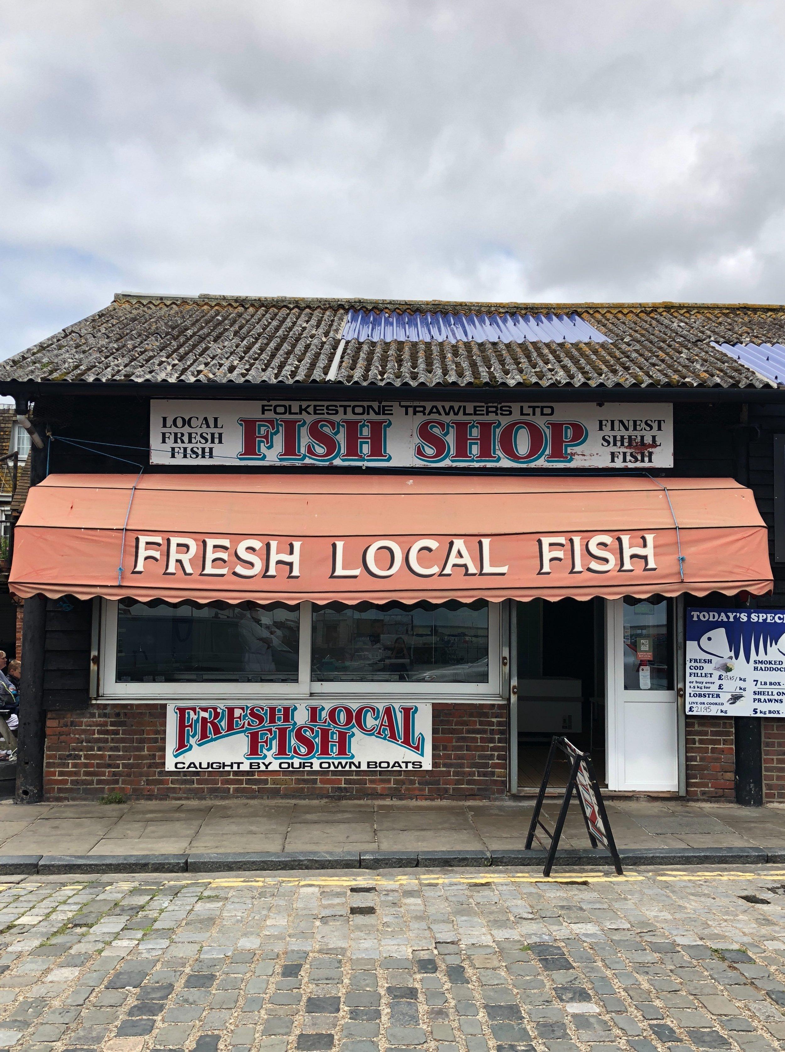Fresh Local Fish, Folkestone by Clementine May.JPG