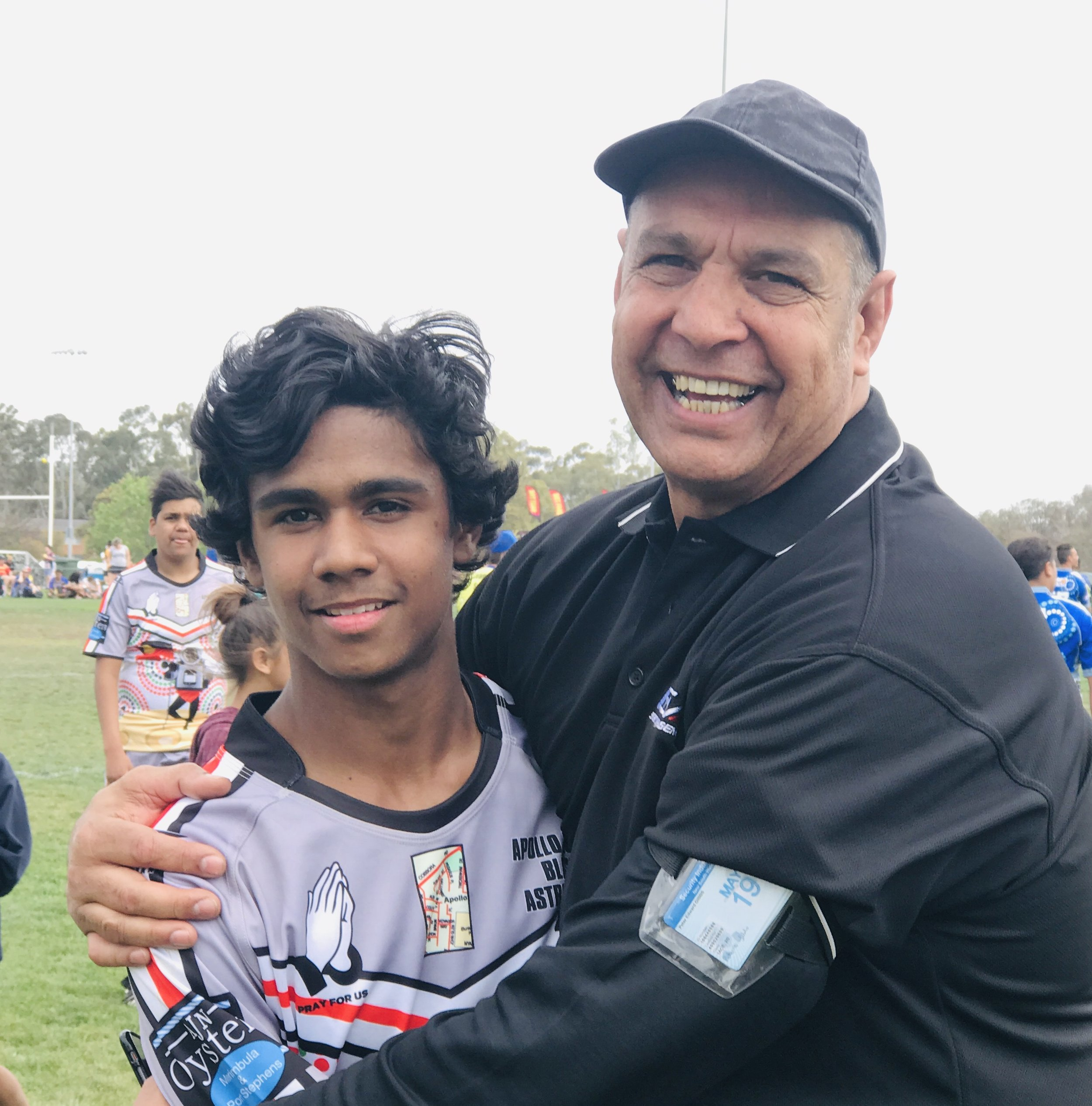 2018 Koori KnockOut - Under 15's Coach and Captain