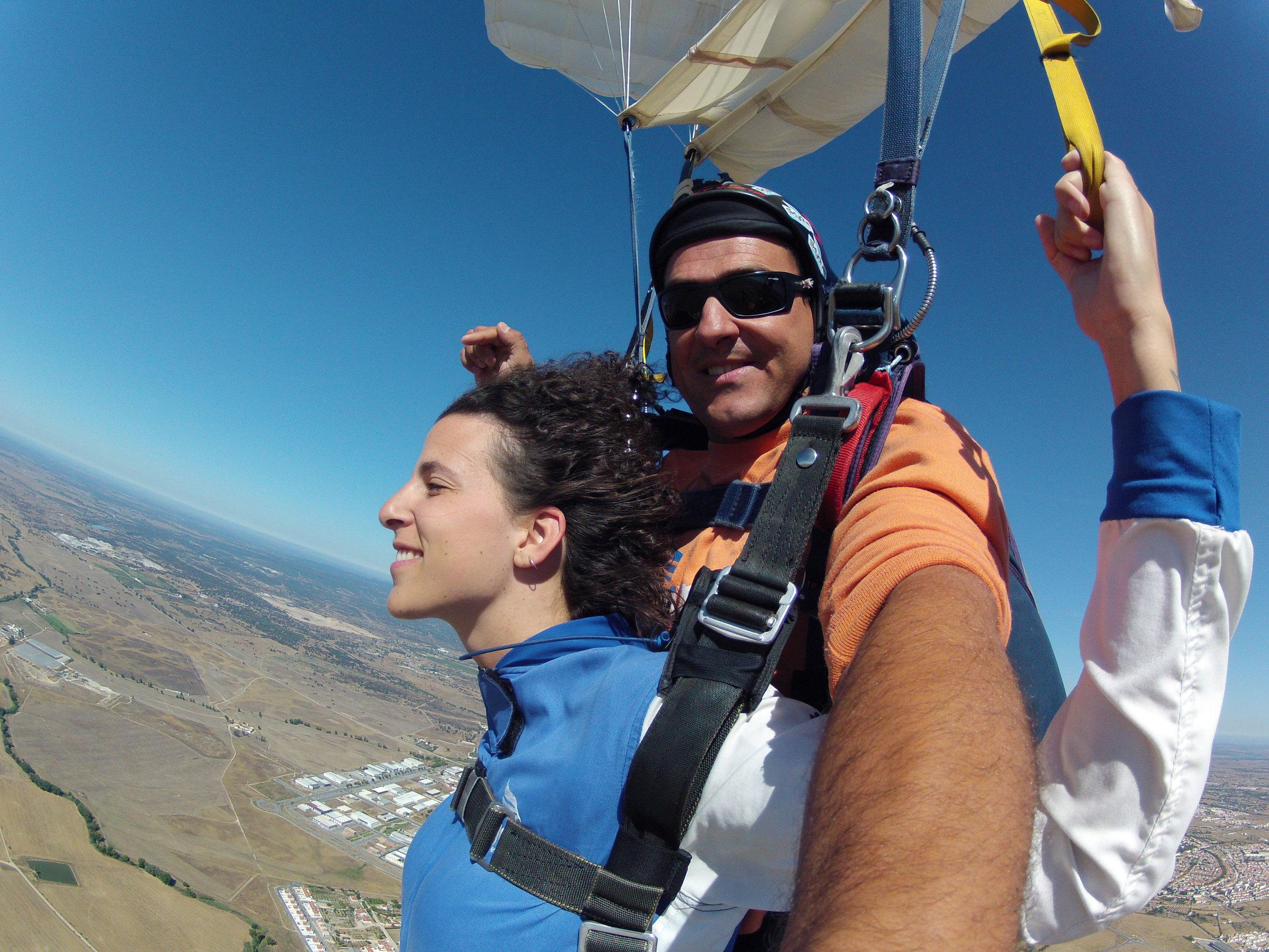 ...I skydived at 4200m - Évora (Portugal), August 2014