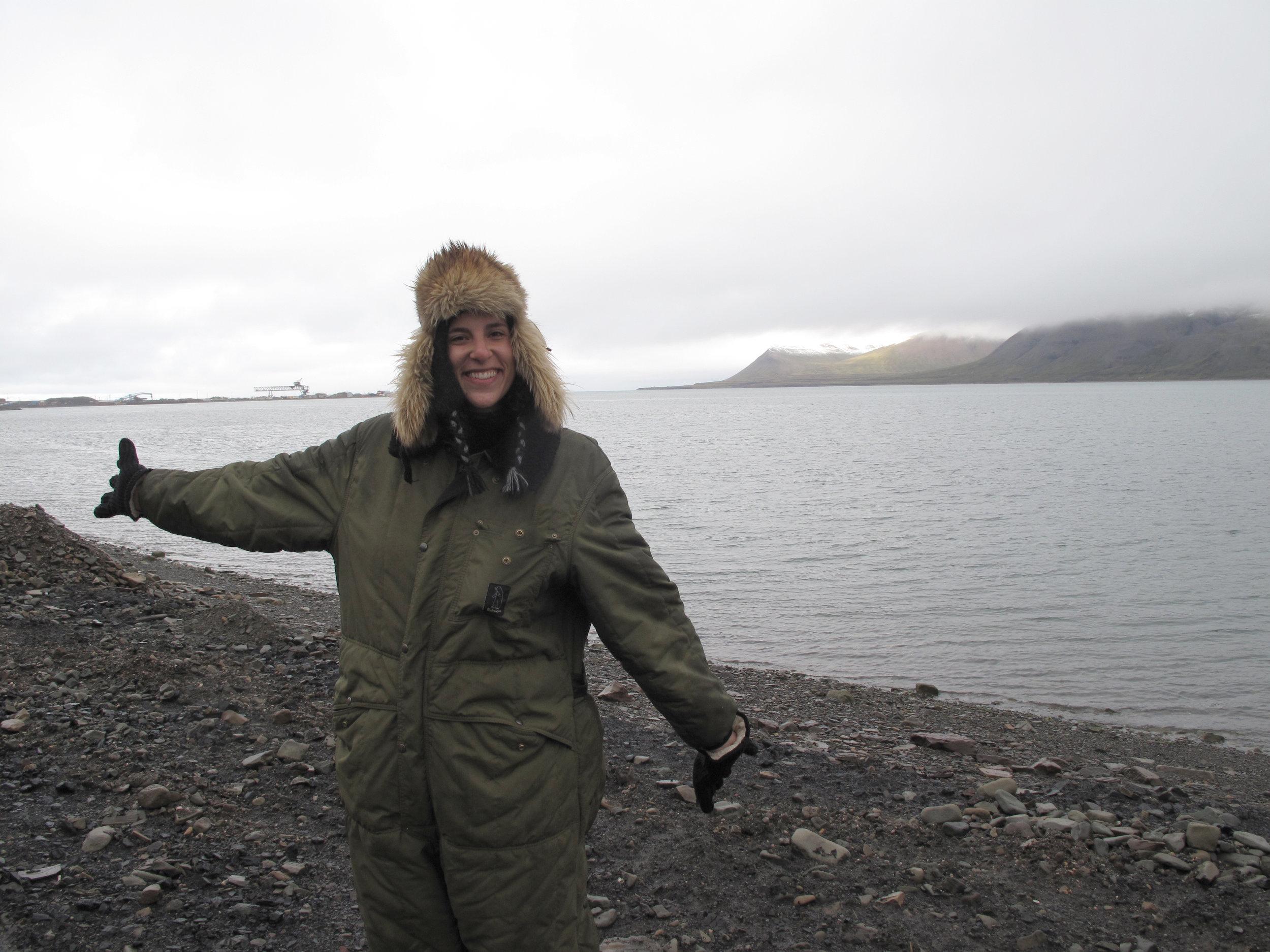 ...I visited the Arctic Polar Circle - Longyearbyen (Norway), September 2013
