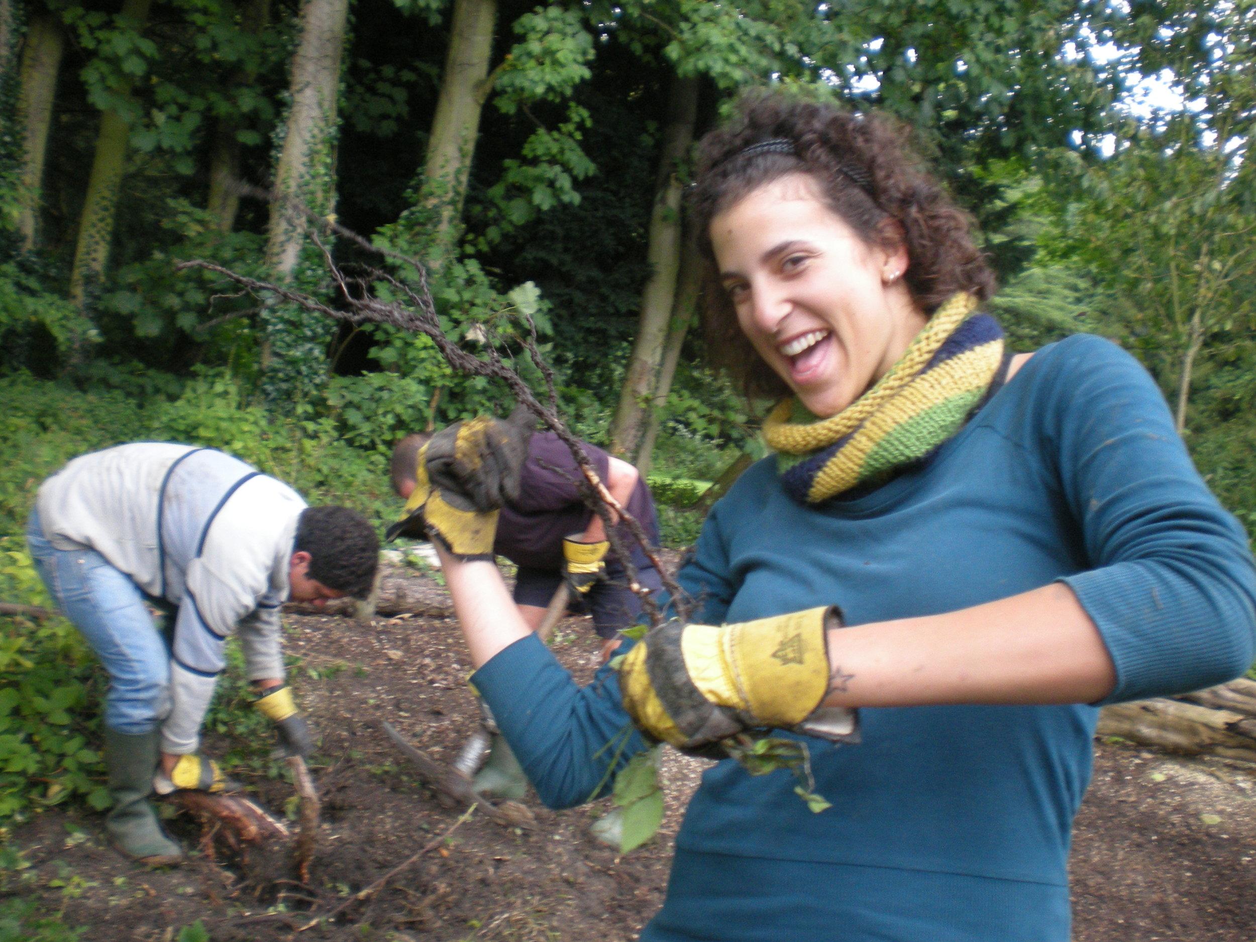 ...I volunteered in a Buddhist Center - Pocklington (UK), September 2008