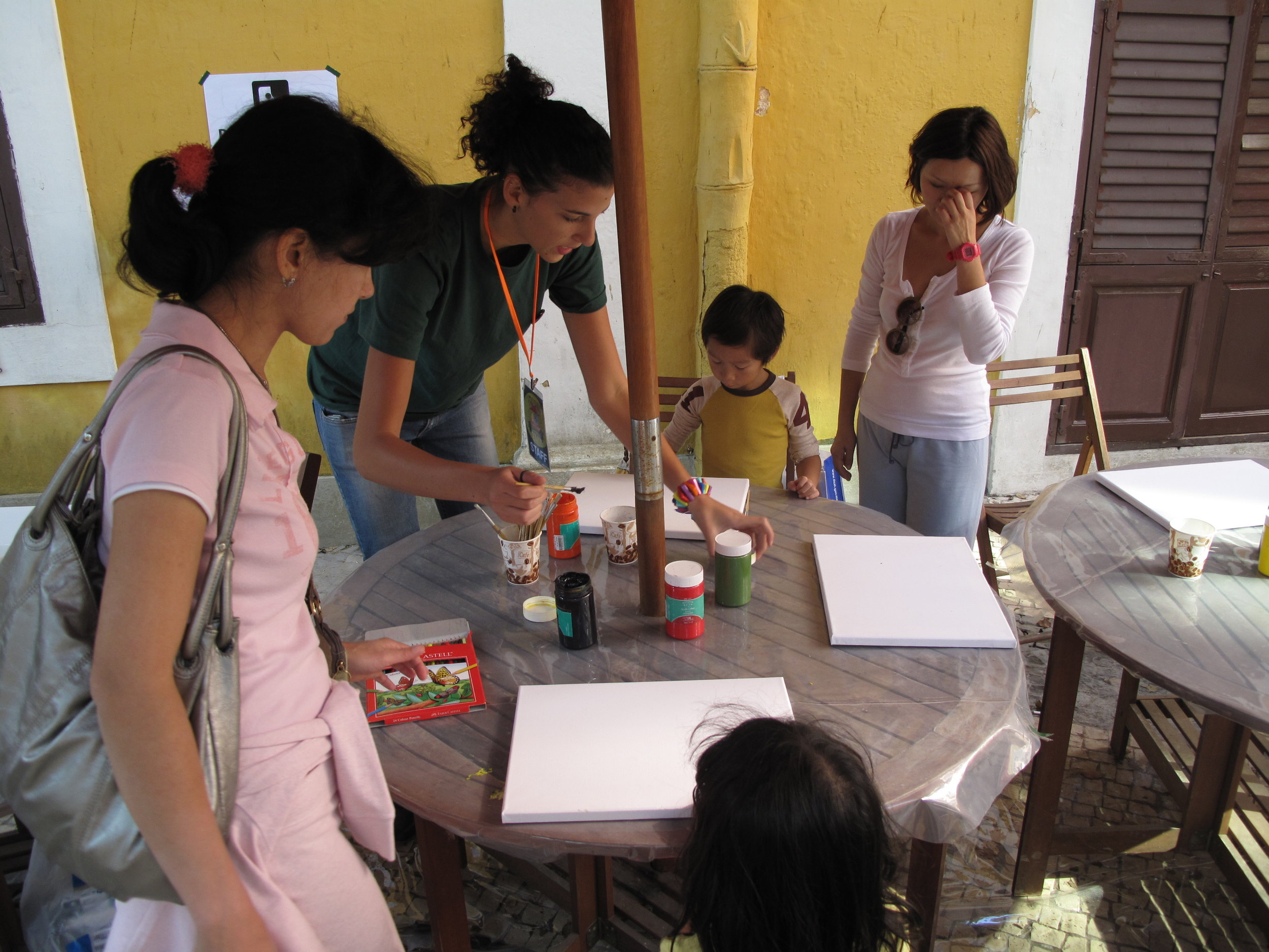 ...I produced a 2-days event for children with Portuguese artists - Macau (China), October 2010
