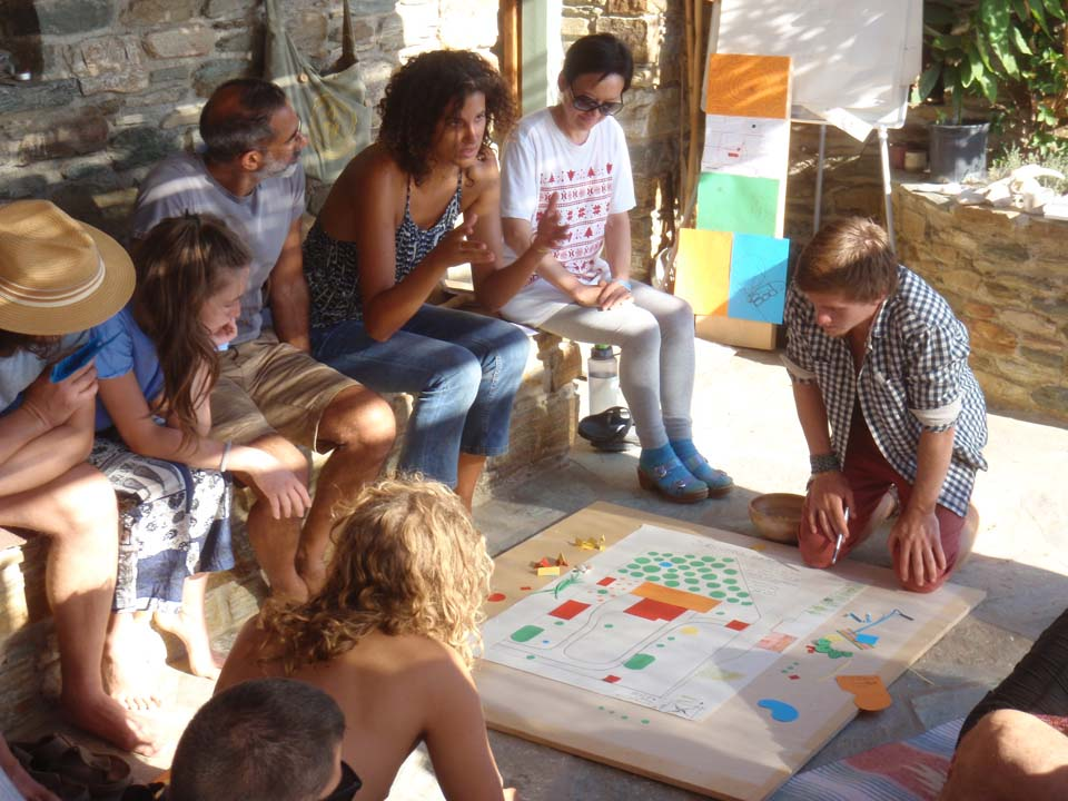 ...I took a Permaculture Design Certificate course - Tinos Island (Greece), October 2016