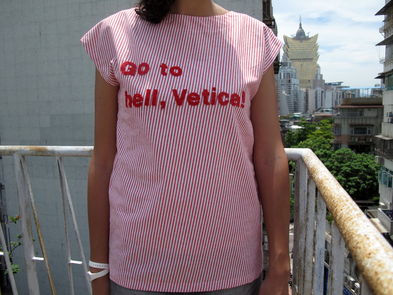 Go to hell, Vetica!    <i>Helvetica</i>