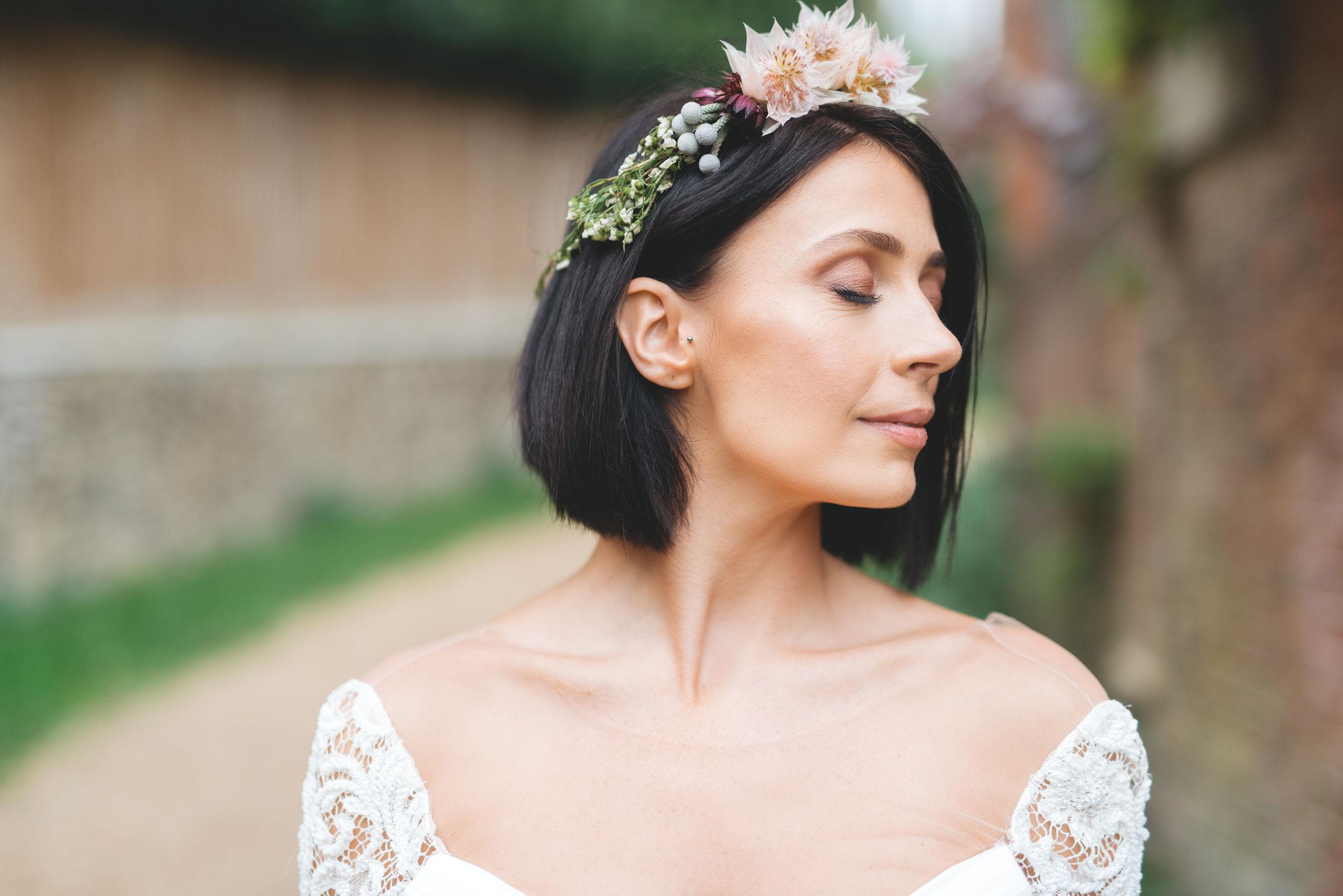Photographer - Sussie Mellstedt  Model - Katie Priest  Flowers - Gemma Hales  Dress - Heart Aflutter Bridal