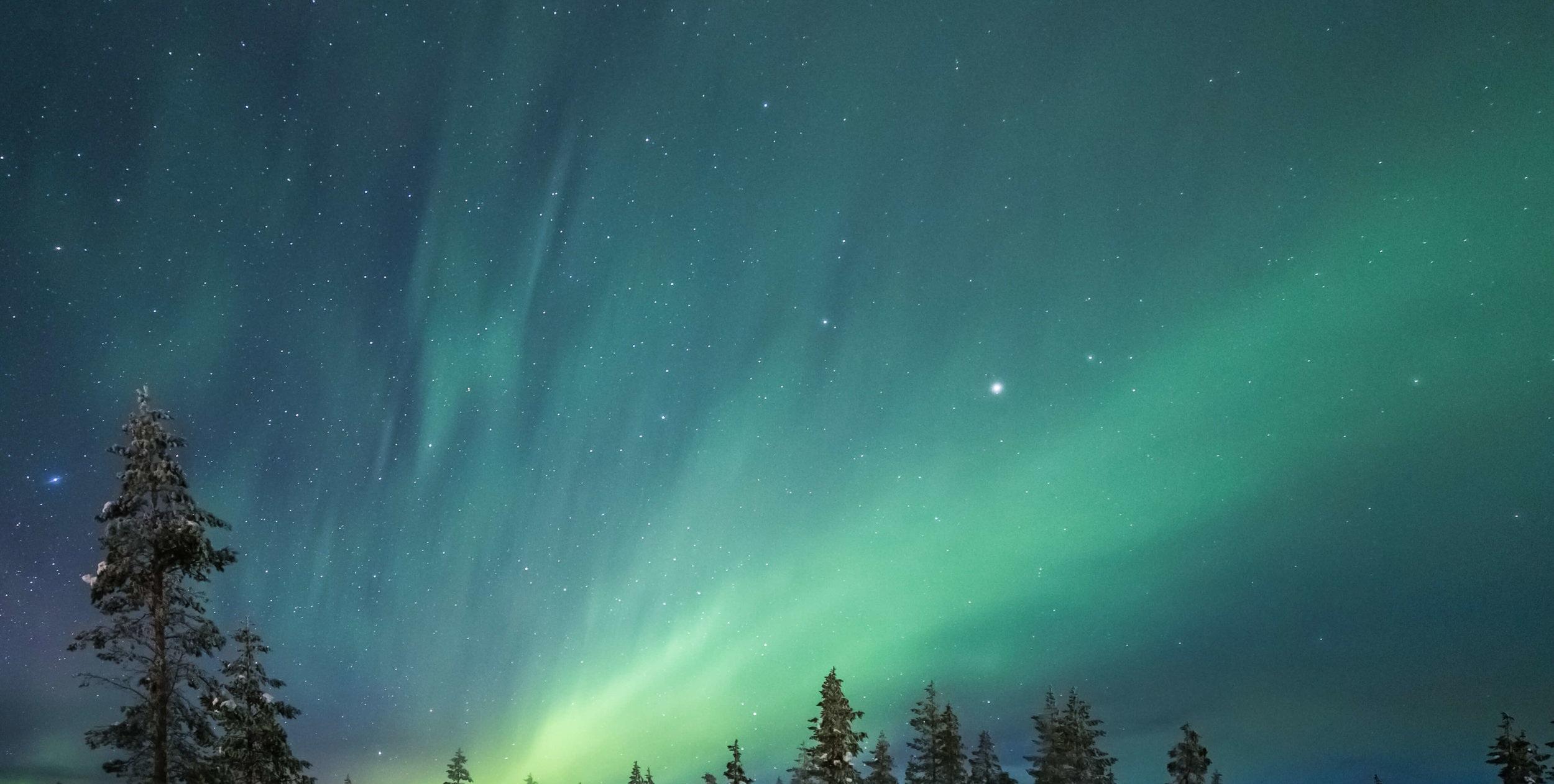THE Arctic Sky heals you -