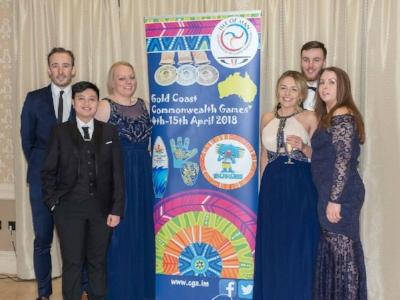 Annexio attends the Commonwealth Games Gala   20th February 2018