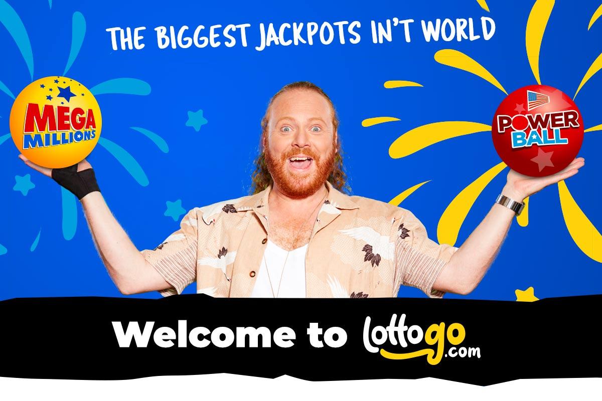Keith Lemon Launches LottoGo.com TV ads   1st October 2018