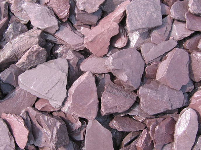 Decorative Plum Slate - Avalible in 20mm and 40mm sizes