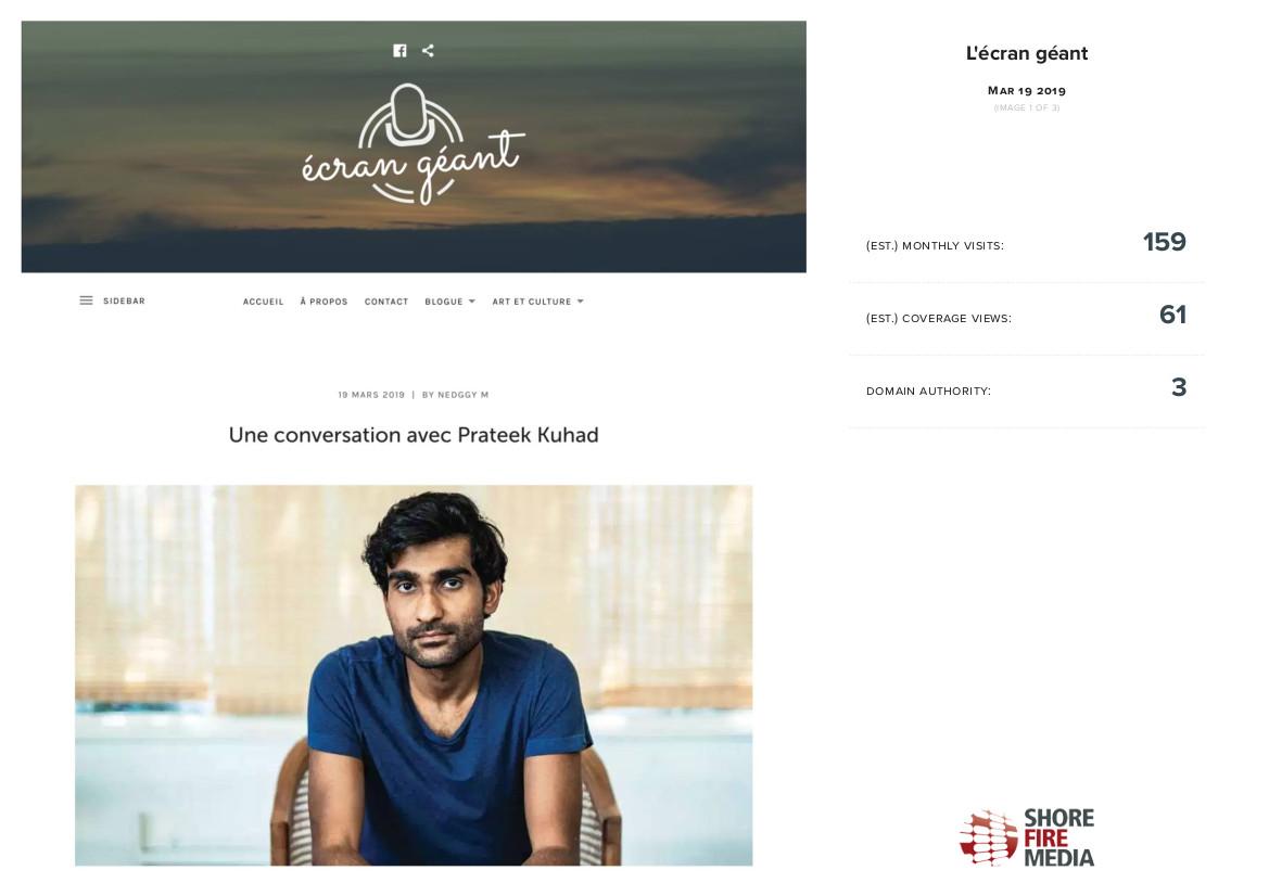 Une conversation avec Prateek Kuhad