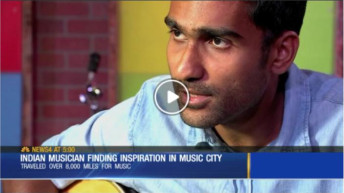 Indian musician finds inspiration in Music City