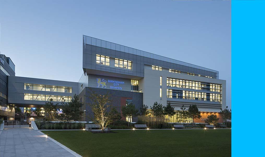 Welcome future Birmingham City University students! -