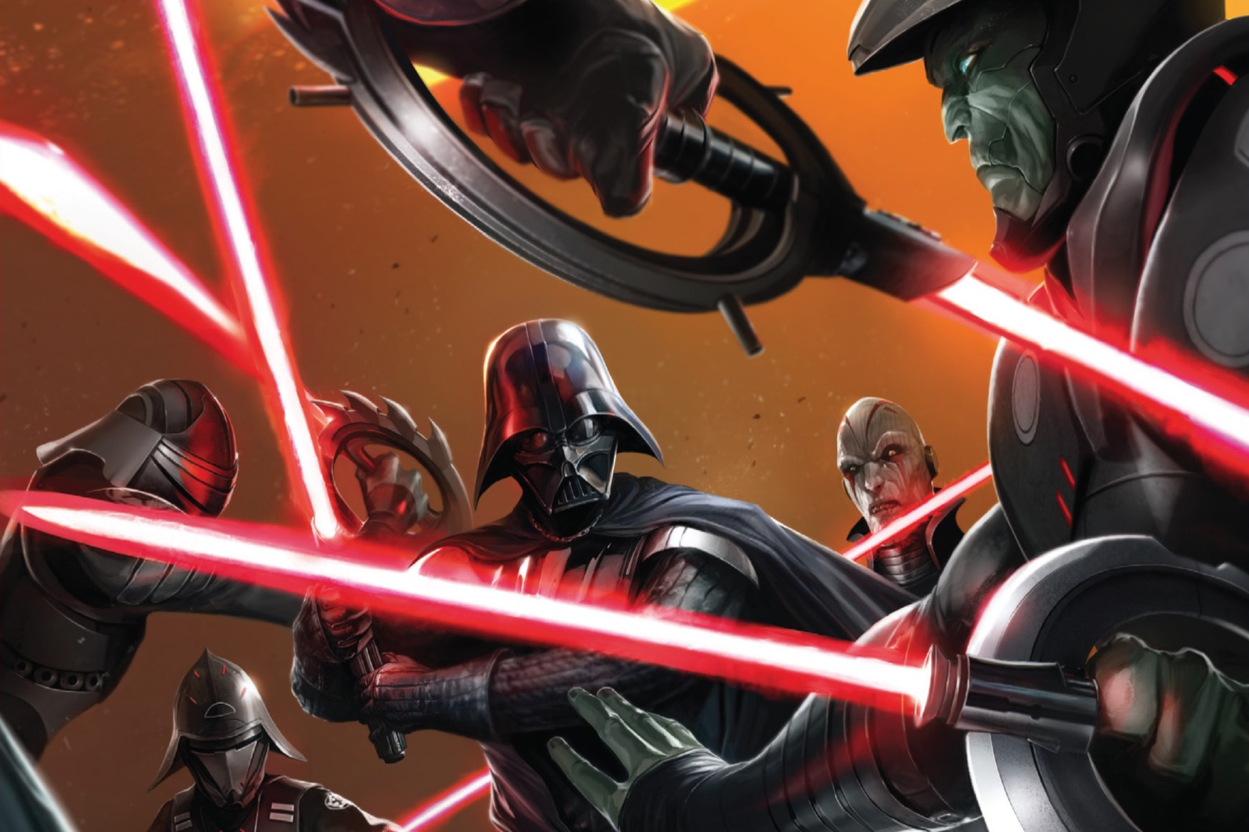Vader and The Inquisitors