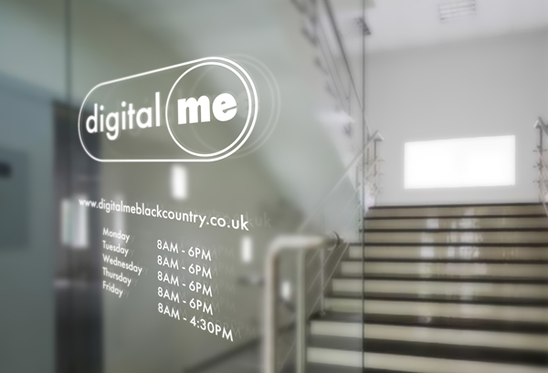 Logo and window decal for DigitalMe