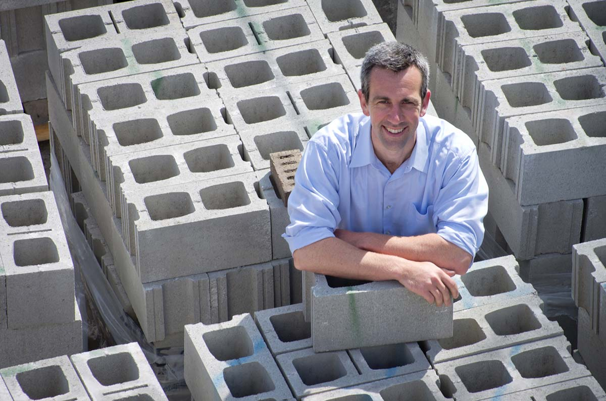 Rob Niven founded CarbonCure in 2007 with the mission to reduce the carbon footprint of the concrete industry.