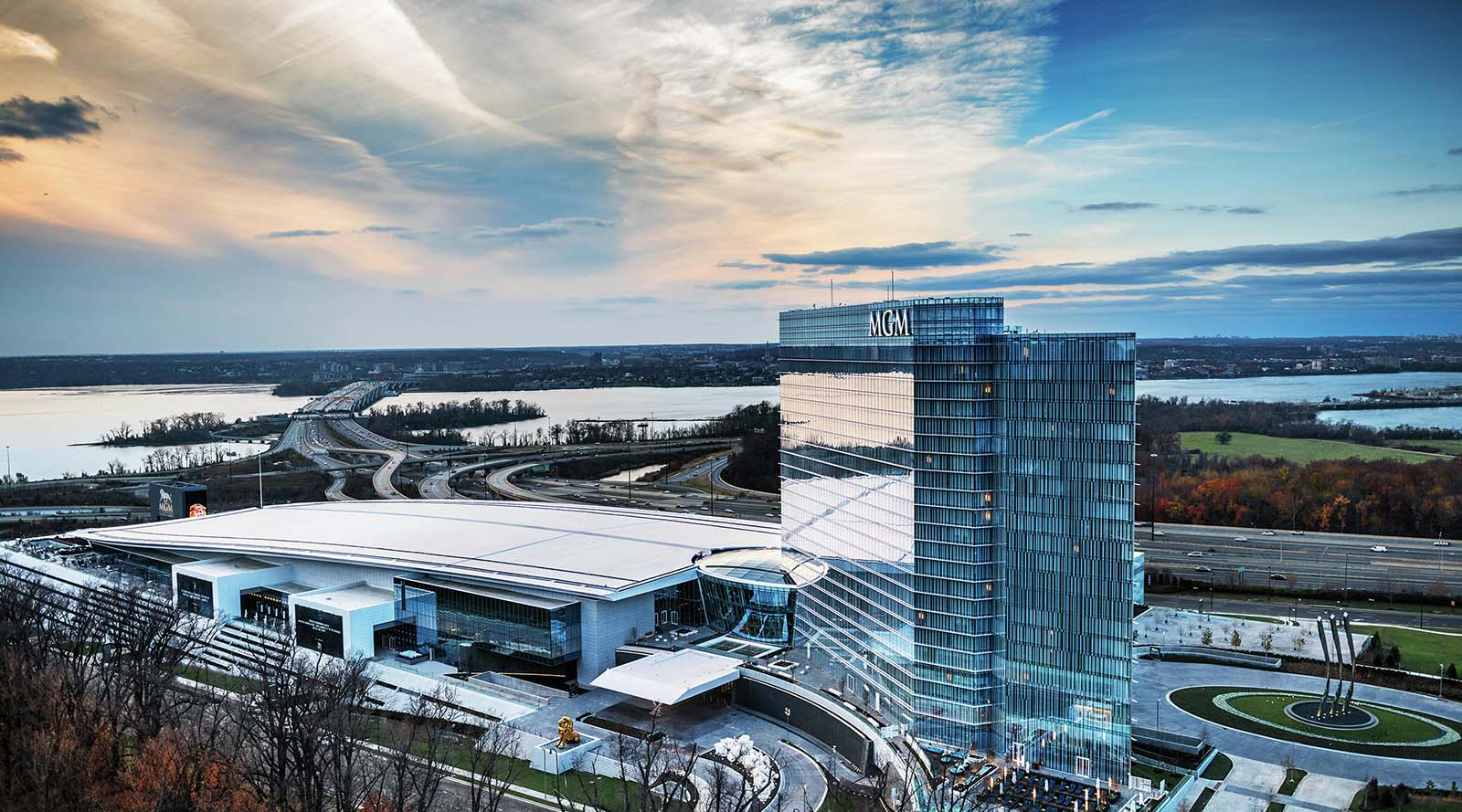 CarbonCure CMU by Ernest Maier was specified for MGM National Harbor in Prince George County, MD.  View Case Study