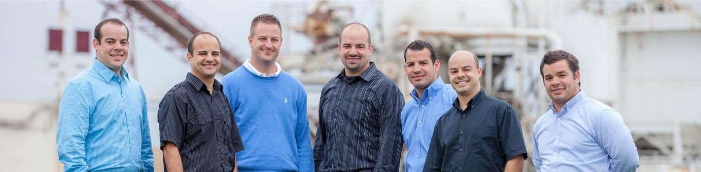 Ozinga fourth generation - Tim, Martin IV, Jeff, Justin, Aaron, Karl and Paul