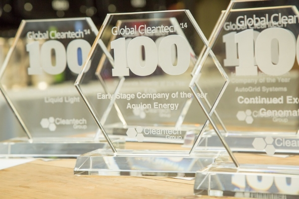 2018 Cleantech Top 100 Award - Picture of Award.jpg