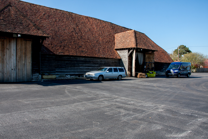 The Grade 1 listed Great Barn