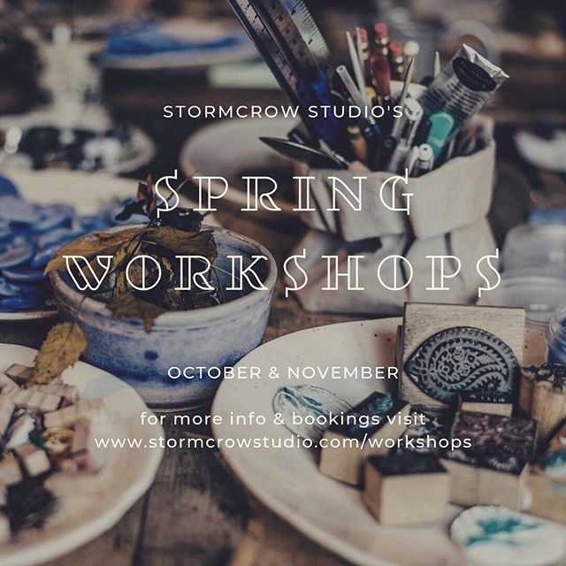 Stormcrow Studio is excited to announce we will be running a variety of workshops this Spring! Workshops on offer include mono printing, drypoint etching, linocut printing and painting with acrylics. Check out the workshop page & calendar on our website for more information and to book online (link in bio). Our workshops will be held in the studio space so places are limited! Spend a day out in Nundle and enjoy learning and creating in a fun and relaxed environment. #nundlensw #regionalnsw #creativeworkshops #stormcrowstudio #printmakingworkshop #springworkshops #announcement #creative #breakaway #countrystyleloves