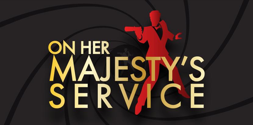 murder mystery on her majestys service