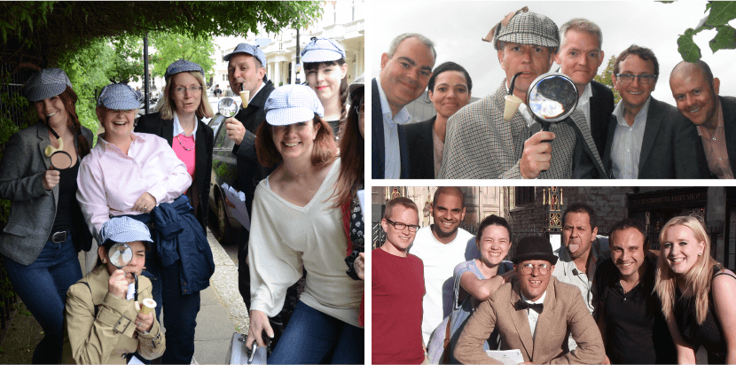 murder mystery sherlock adventure treasure hunt photos