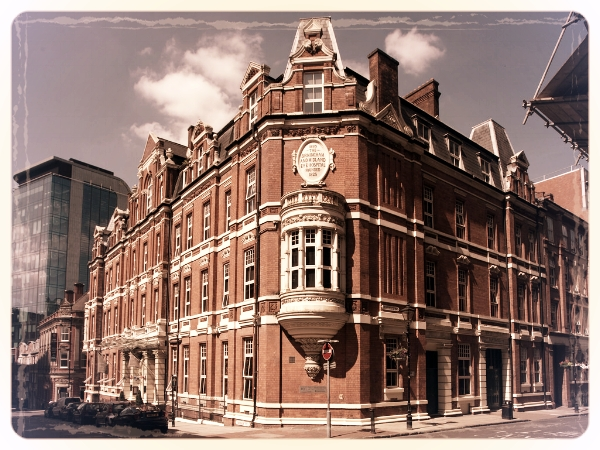 Hotel Du Vin Birmingham - A disused Eye Hospital in its former life, Hotel du Vin is an early Victorian red brick building set in the old city centre. We love this venue's quirky attitude to fine dining and recommend the Sassicaia room for our On Her Majesty's Service. It boasts a number of unique features such as wooden floor boards and an original fireplace.