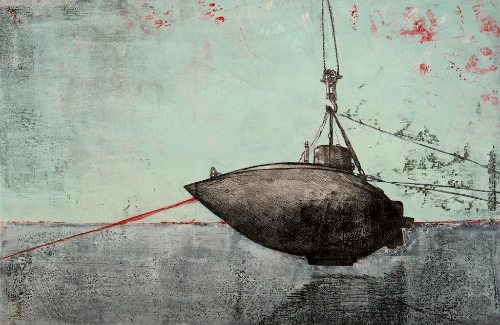 Sub-Missive 2. Monoprint