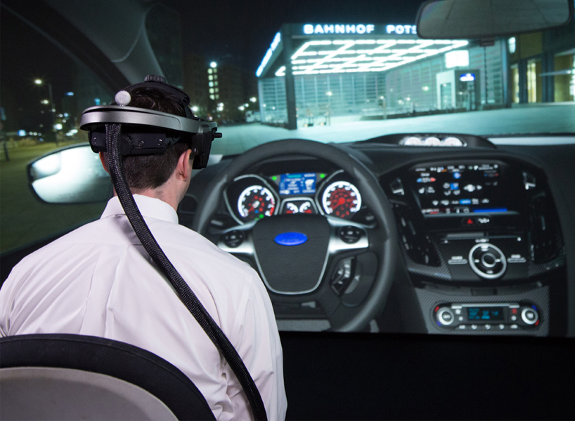 Ford has created a VR experience that enables employees to view new models remotely