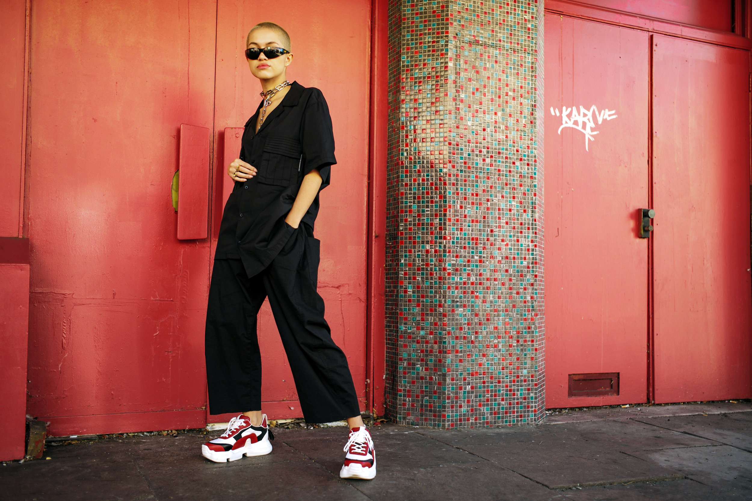 brief - Create a series of influencer-engaged content to launch the 'Nitro' shoe SWEAR's most customisable shoe to date