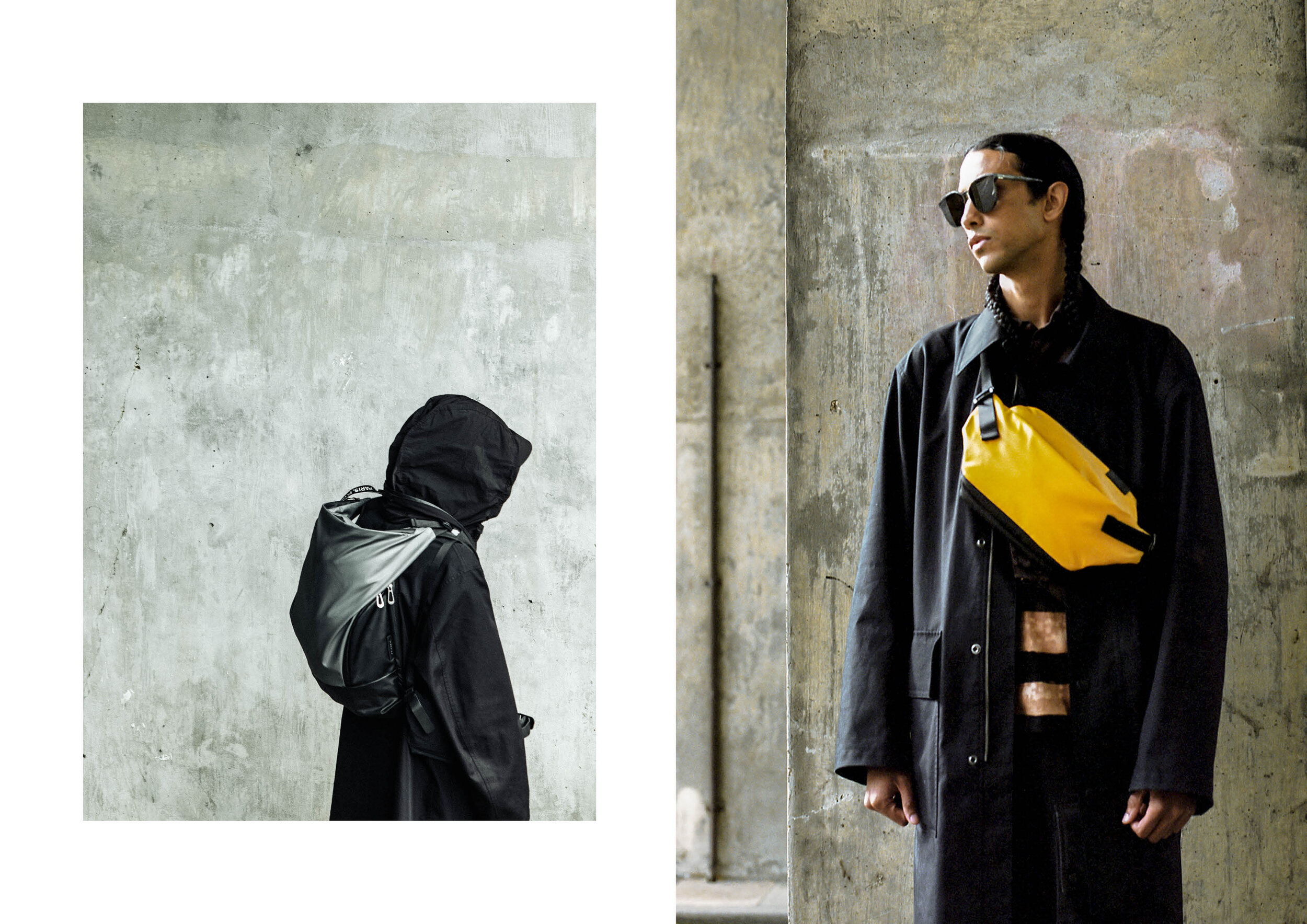 BRIEF - Create a campaign for the AW19 launch of côte&ciel's AW19 collection in partnership with The New Order magazine.