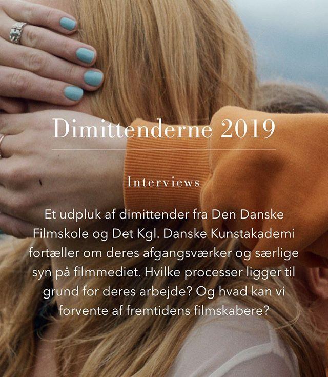 Vi har talt med 5 filmdimittender om, ja, film. Læs med på Skuelyst.dk ✨  #iselintoubro #jacobmøller #katrinebrocks #jeppelange #emiliemarlothfrøkjær